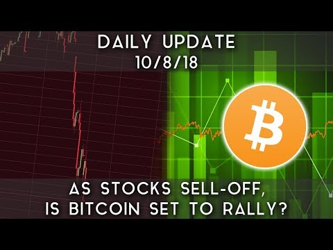 Daily Update (10/08/18) | As stocks sell-off, is bitcoin set for a breakout? video