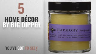 Top 10 Home Décor By Big Dipper [ Winter 2018 ]: Big Dipper Wax Works AG8HAR Pure Lavender Beeswax