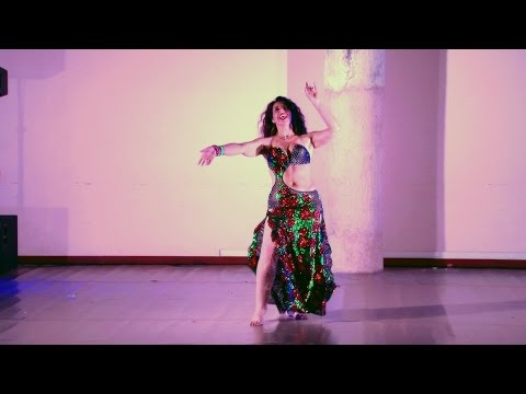Sharon Mesguich - Belly Dancer - Ya Dalaa Dallaa (видео)