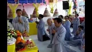 Chương Trình An Vị Phật Và Chẩn Tế - Cúng Dường Trai Tăng P3