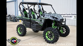 8. $19,999:  2018 Kawasaki Teryx4 LE with 6 Inch Lift, 17 Inch Wheels and 32 Inch Tires