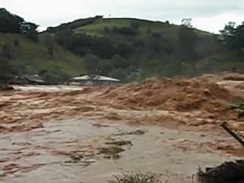 Enchente em Barra Santa Salete 2012