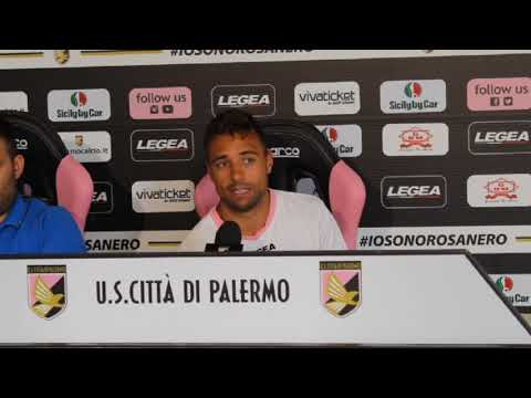 Palermo, Thiago Cionek in conferenza stampa