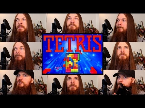 Tetris gets an A Cappella Cover, video games, Tetris, videos, A Cappella, amazing