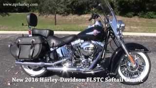 10. New 2016 Harley Davidson FLSTC Heritage Softail Classic