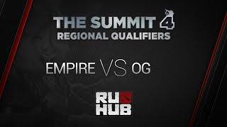 Empire vs OG, game 1