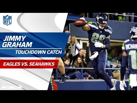 Video: Wilson to Graham for a Huge TD to Cap Off 85-Yd Drive! | Eagles vs. Seahawks | NFL Wk 13 Highlights