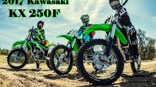 8. All New 2017 Kawasaki KX 250F : Better Handling and Less Weight