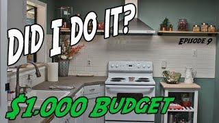 DIY Kitchen Remodel | $1000 Budget Kitchen Remodel