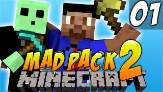 Minecraft Mods - MAD PACK #1 'GHOSTS!' with Vikkstar&PeteZahHutt (Minecraft Mod - Mad Pack 2)