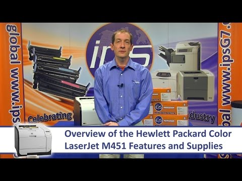 HP M451 - Overview
