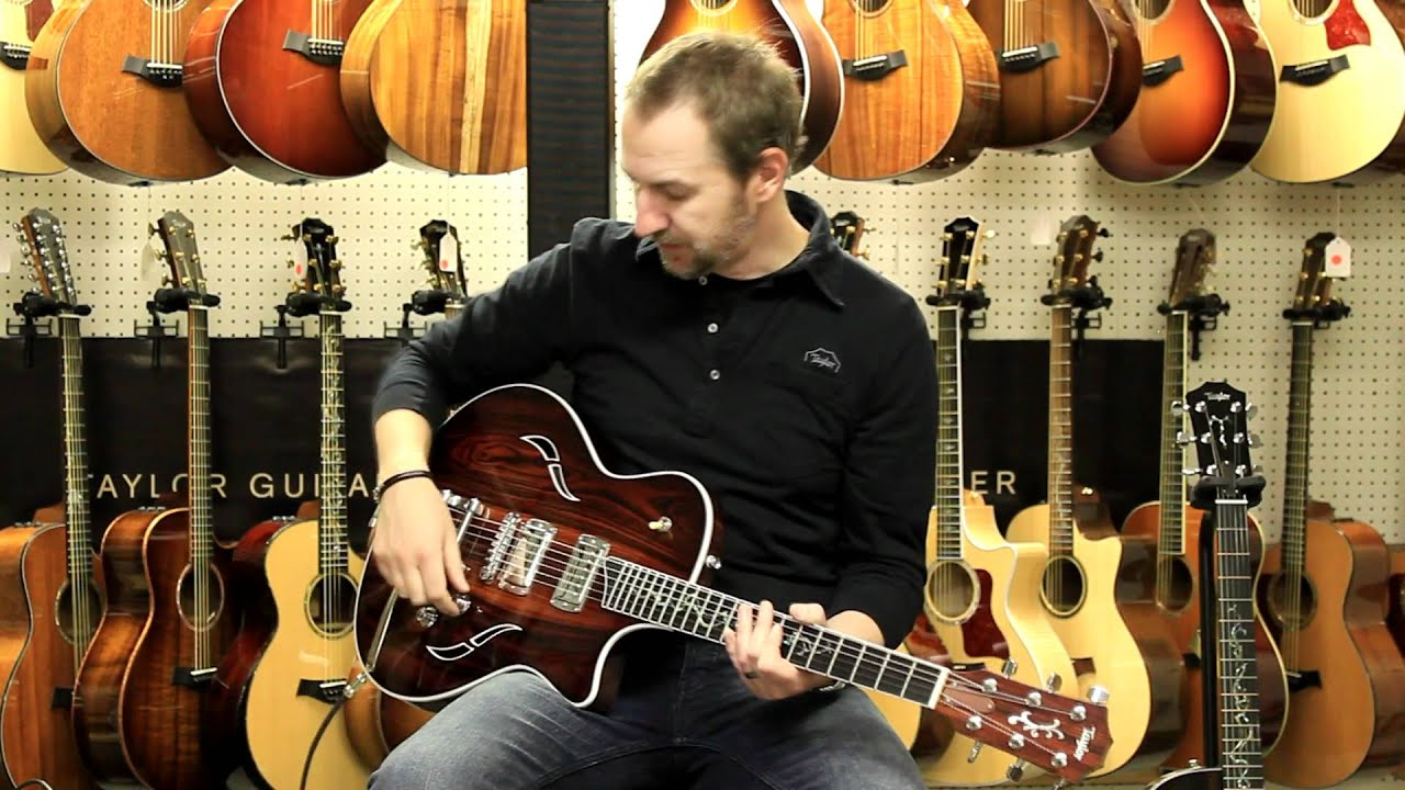 Taylor Guitar's Electric Semi-Hollow Body T3 with Bigsby Demo