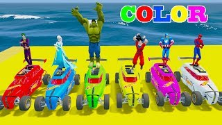 LEARN COLORS Super HOT WHEELS w Fun Challenge In Spiderman And Superheroes For KidsWelcome to Car And Friends Channel. Video Learn Color & Number For KidsThis Channel is about cartoon characters as Spiderman, Hulk, Elsa...with music as finger family, nursery rhymes For Children!Thank For Watch!Playlist :Collection Learn Numbers Video For Kids With Spiderman Cars  : https://www.youtube.com/watch?v=LGEMBndDVZs&list=PLeiK9SGD5dcyj_n1Hp0Z4Yx6mc3jPrnOjCollection Learn Colors For Kids With Spiderman Cars Cartoon :https://www.youtube.com/watch?v=LGEMBndDVZs&list=PLeiK9SGD5dczlFB53UXxxW4RDKgKE1vc-Learn Colors Cars with Spiderman Nursery Rhymes  : https://www.youtube.com/watch?v=LGEMBndDVZs&list=PLeiK9SGD5dcwwwtCHLWgk0Unc5DTjEhfbLearn Number Cars And Trucks W Spiderman Cars Cartoon : https://www.youtube.com/watch?v=LGEMBndDVZs&list=PLeiK9SGD5dcxCq5t6fbAHtUaPjIRqSMFy