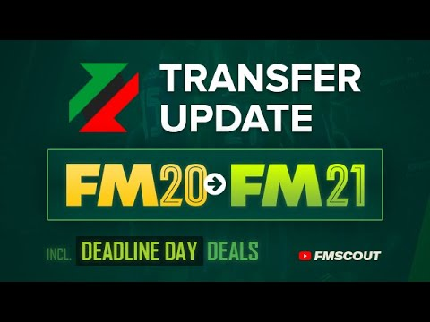 FM20 Transfer Update - Play with updated squads ahead of Football Manager 2021