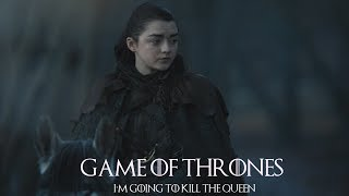 "Season 7, Episode 1. Ed Sheeran Sings ""Hands Of Gold"" as Arya tells the group of men in the Riverlands she is going to kill ..."