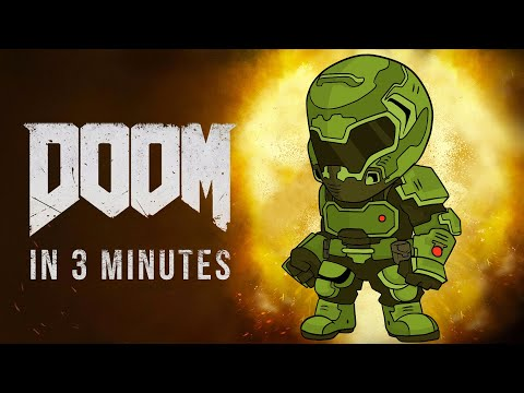 The Story Of Doom 4 (2016) In 3 Minutes! | Arcade Cloud
