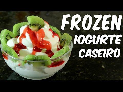 Como fazer um delicioso frozen iogurte caseiro – receita