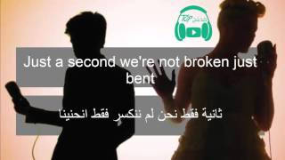 Just Give Me A Reason - Pink Ft. Nate Ruess مترجمة عربى
