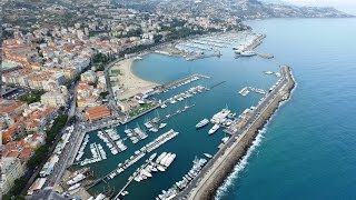 San Remo Italy  city photo : Sanremo Flyby Drone Phantom 3 Advanced - Italy Liguria Riviera