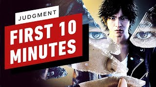 The First 10 Minutes of Judgment Gameplay by IGN