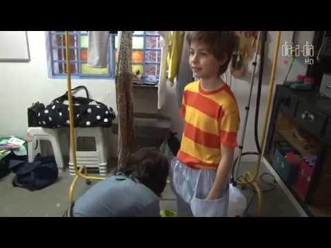 Mãos à obra: confira o making of com looks infantis