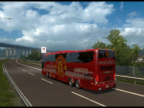Bus Macropolo G7 1600LD Real Madrid Skin