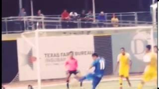 Dos goles del triunfo de la Sub21 en Dallas
