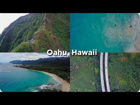 Oahu Hawaii Stairway to Heaven with a Drone! | Evan Edinger Travel
