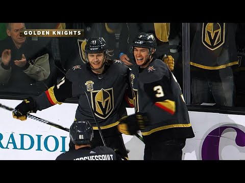 Video: Golden Knights' Karlsson scores natural hat trick in 2nd period