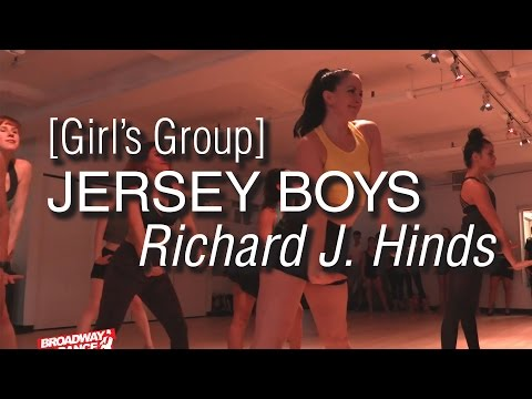 Jersey Boys - Who Loves You [GIRLS] Choreography by Richard J. Hinds | #bdcnyc
