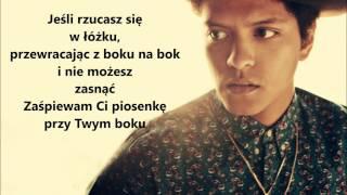Bruno Mars Count On Me TŁUMACZENIE PL