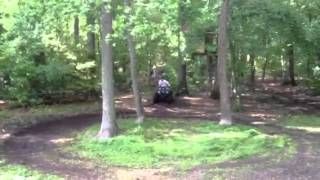9. Drifting a Grizzly 450