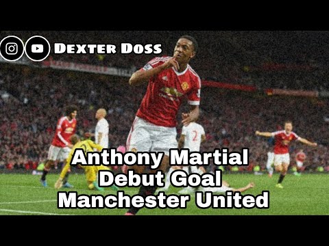 Anthony Martial | Debut Goal | Manchester United |