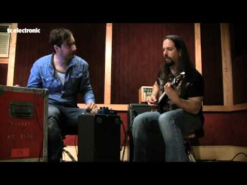 John Petrucci doing TonePrints for TC Electronic's Shaker Vibrato - clean sounds