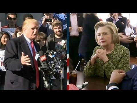 Η πιθανή μονομαχία Κλίντον-Τραμπ και η μάχη της Ιντιάνα