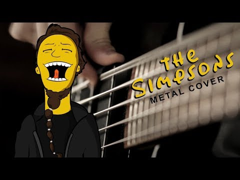 The Simpsons Theme as a Heavy Metal Song