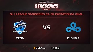 Vega Squadron vs Cloud 9, Game 2, SL i-League StarSeries Season 3, EU