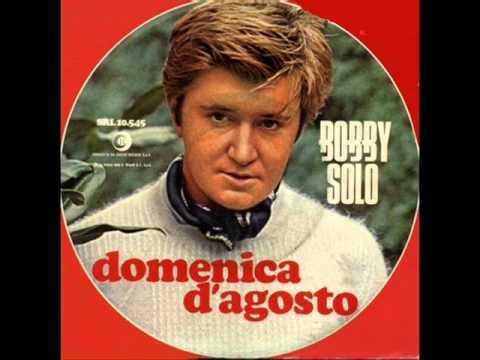 Tekst piosenki Bobby Solo - Domenica d'agosto po polsku