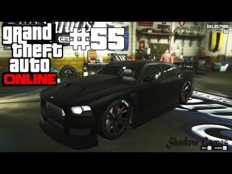 GTA 5 ONLINE Bravado Buffalo S ( DODGE CHARGER ) Insane Car Sound 2016 Gameplay 1080p #55