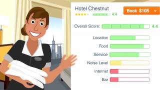Hipmunk Hotels & Flights YouTube video
