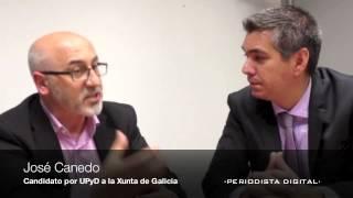 Entrevista José Canedo candidato a la Xunta de Galicia por UPyD. 5 octubre 2012