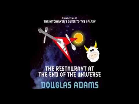 The Restaurant at the End of The Universe Douglas Adams Audiobook