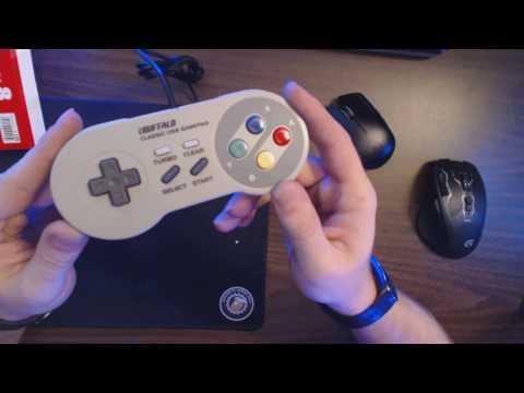 Buffalo Classic USB Gamepad for PC -- Unboxing