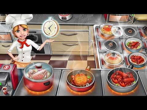 Crazy Cooking Chef World Kitchen Gameplay Android & IOS HD !! EP 10