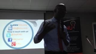 Hon January Makamba At KINU Launch