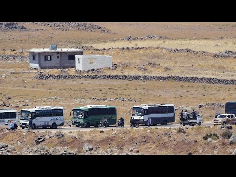 Syrien: 4.000 Rebellen ziehen aus Kuneitra ab