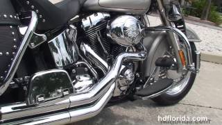 4. Used 2007 Harley Davidson Heritage Softail Classic Motorcycles - Harley Sound