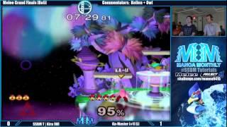 MMX [Grand Finals] SSBM T | Kira (Sheik) vs Ka-Master (Luigi)