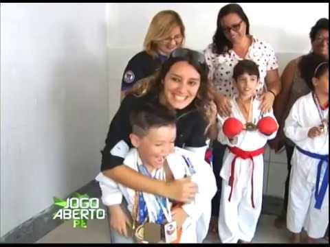 [JOGO ABERTO PE] Atletas infantis de arte marciais precisam de ajuda para participar de competição