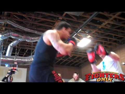 Frank Mir Training for Shane Carwin and QA